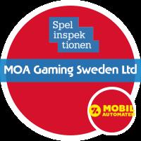 MOA Gaming Sweden Ltd