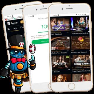 Premier Live mobilcasino